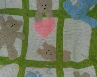 Baby blanket made to order