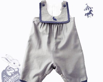 Overalls romper mixed Jeannot Lapin