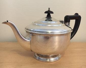1940's EPNS metal and Bakelite Teapot