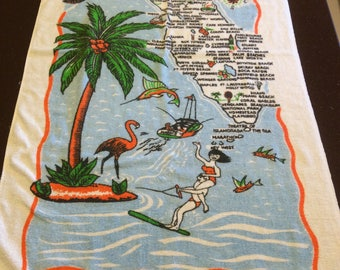 Vintage Florida Towel