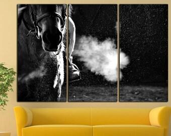Horse races canvas Horse races print Horse races wall decor Horse races wall art Horse wall decor Horse print Horse canvas