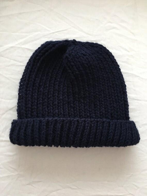 Ribbed Men's Hat Knitting Pattern from LisaLovesKnittingGB ...