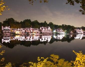 Philadelphia Boat House Row (24x36)