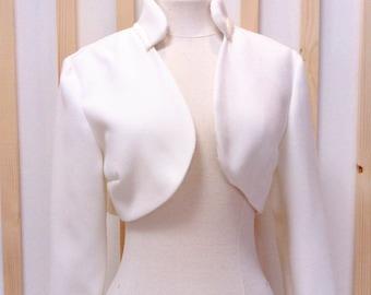 Bolero, bridal bolero white, bridal bolero, jacket,