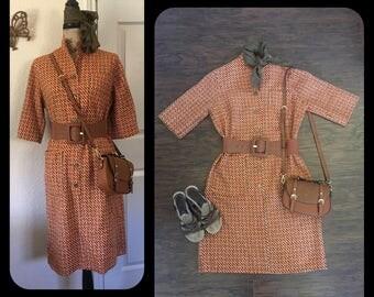 Vintage 60's Mod Dress Tumbleweed's size Large/XLarge