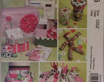 Sewing   pattern McCalls Crafts 'sewing accessories' pattern M6095