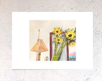Sunflowers, Original