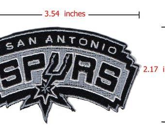 SAN ANTONIO SPURS  Sport Logo iron-sewing-patch on fabric