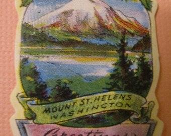 Vintage Washington State Stickers - Hard to Find!