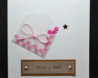 You're A Star (White Card)