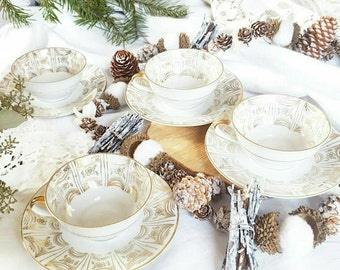 """Service 4 cups """"Silent night"""""""