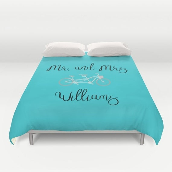 Personalized Bedding Queen, King Size Duvet Cover, Couples Gift Ideas, Anniversary Gift for Wife, Gift For Newlyweds, Couples Bedding