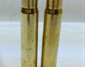 9.3x62 Brass Casings-9.3 x 62 Mauser Brass for Reloading Bullets-PPU 93x62 Reloading Brass-9.3x62 Range Brass-25 Clean Empty Bullet Shells