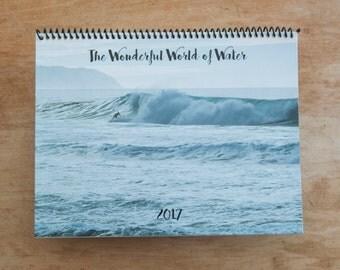 "2017 Calendar ""The Wonderful World of Water"""