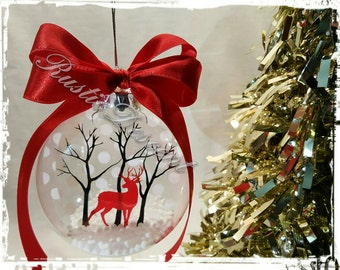 Deer Christmas Ornaments