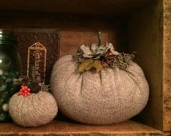 Sweater Pumpkin Set