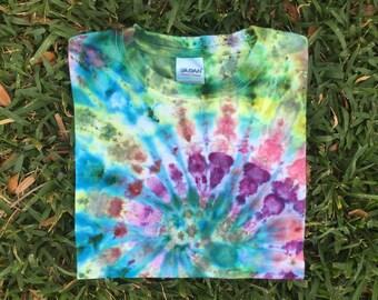 Kids tee / Handmade tie dye / Size medium / M