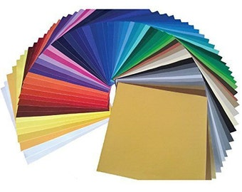 All Oracal 651 Solid Colors, Multipack 651, 12 X 12, Adhesive Vinyl, Permanent Vinyl, All Colors, Fast Shipping