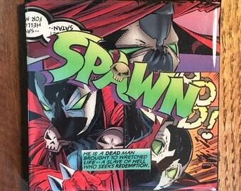 Spawn Comic Drink Coaster