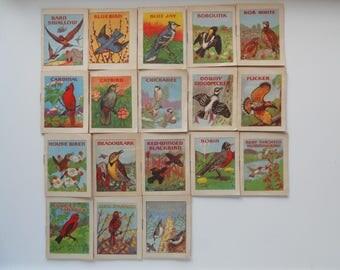 lot 18 John H. Eggers miniature bird books 1941 illustrated