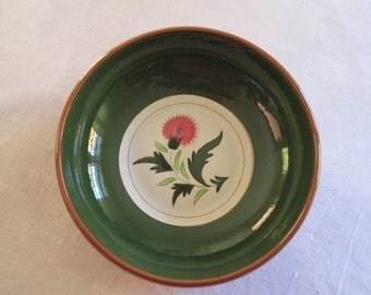 Stangl Pottery Bowl Thistle Pattern