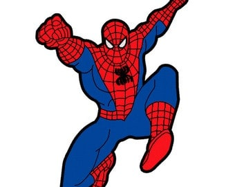Machine Embroidery Design - Spiderman