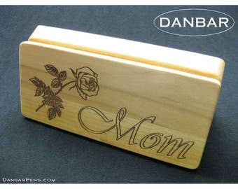 Pen Box, Wooden Gift Box, Custom Engraving, DanbarPens