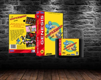 The Itchy and Scratchy Game - Simpsons Spin-Off Platform Adventure - GEN - Unreleased