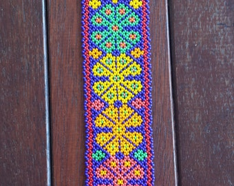 Peyote huichol bracelet