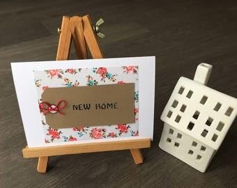 New Home Handmade Card