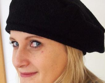 Steg beret black