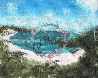 Rottnest Island Acrylic Print - Unframed
