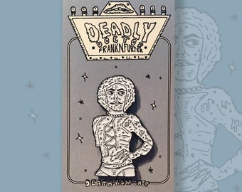 Rocky Horror Picture Show - Deadly Dr. Frank N. Furter Enamel Pin
