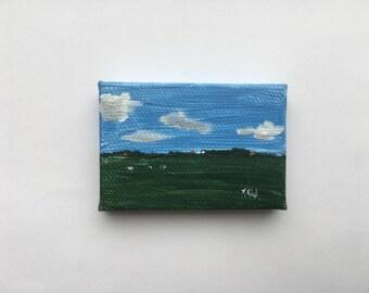 Tiny painting 'Friesland'