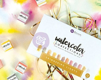 Shimmering Lights Watercolor Confections - Prima