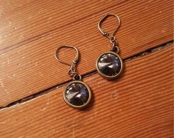 Swarovski Lever Back Earrings