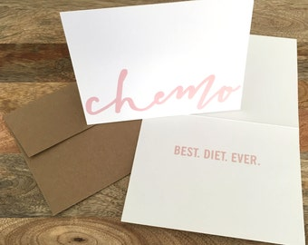 Chemo Diet - Cancer Card