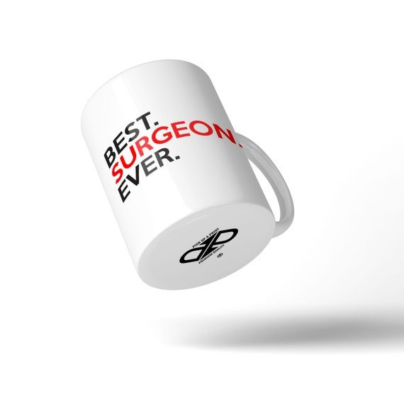 Best Surgeon Ever Mug - Great Gift Idea Stocking Filler