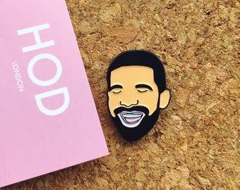 Happy Drake Enamel Pin Badge