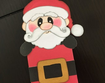 Santa Claus Gift Card Holders