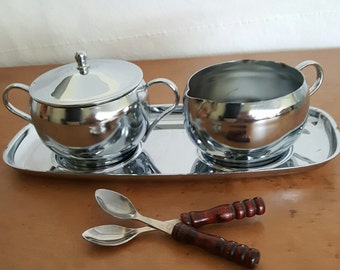 Vintage Silver Plate Service Set made by Milbern