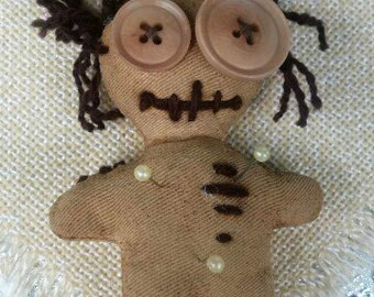 Coffee Voodoo Doll , horror