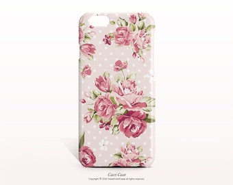 iPhone 7 Case pink floral iPhone 7 Plus Case iPhone 6S Case iPhone 6 Plus Case iPhone 6 case iPhone 6S Plus Case Samsung Galaxy note 7 Case