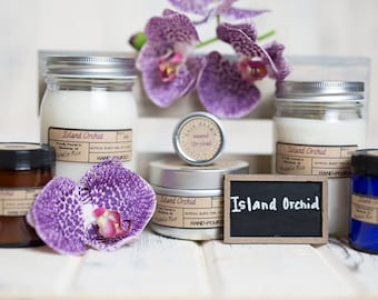 Soy Candle - Island Orchid - Spring Scents 2017