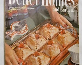 Better Homes and Gardens Magazine November 1952 Issue