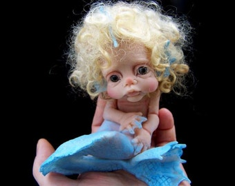OOAK  Goldilocks Mermaid by Malga