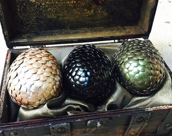 Dragon Eggs - Game of Thrones Inspired - Set of 3 - Gift Set