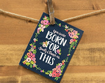 Inspirational/Christian Greeting Card - Any Occasion - Blank Inside