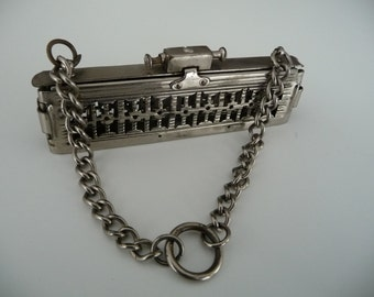 Square metal bag or purse frame