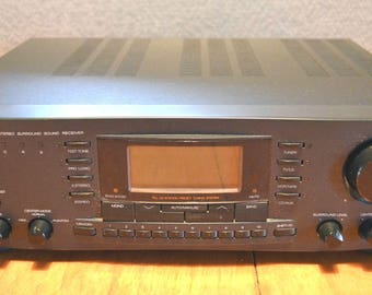 Zenith Z763B AM/FM Surround Sound 5.1 Receiver with Dolby Pro/Tested & Serviced